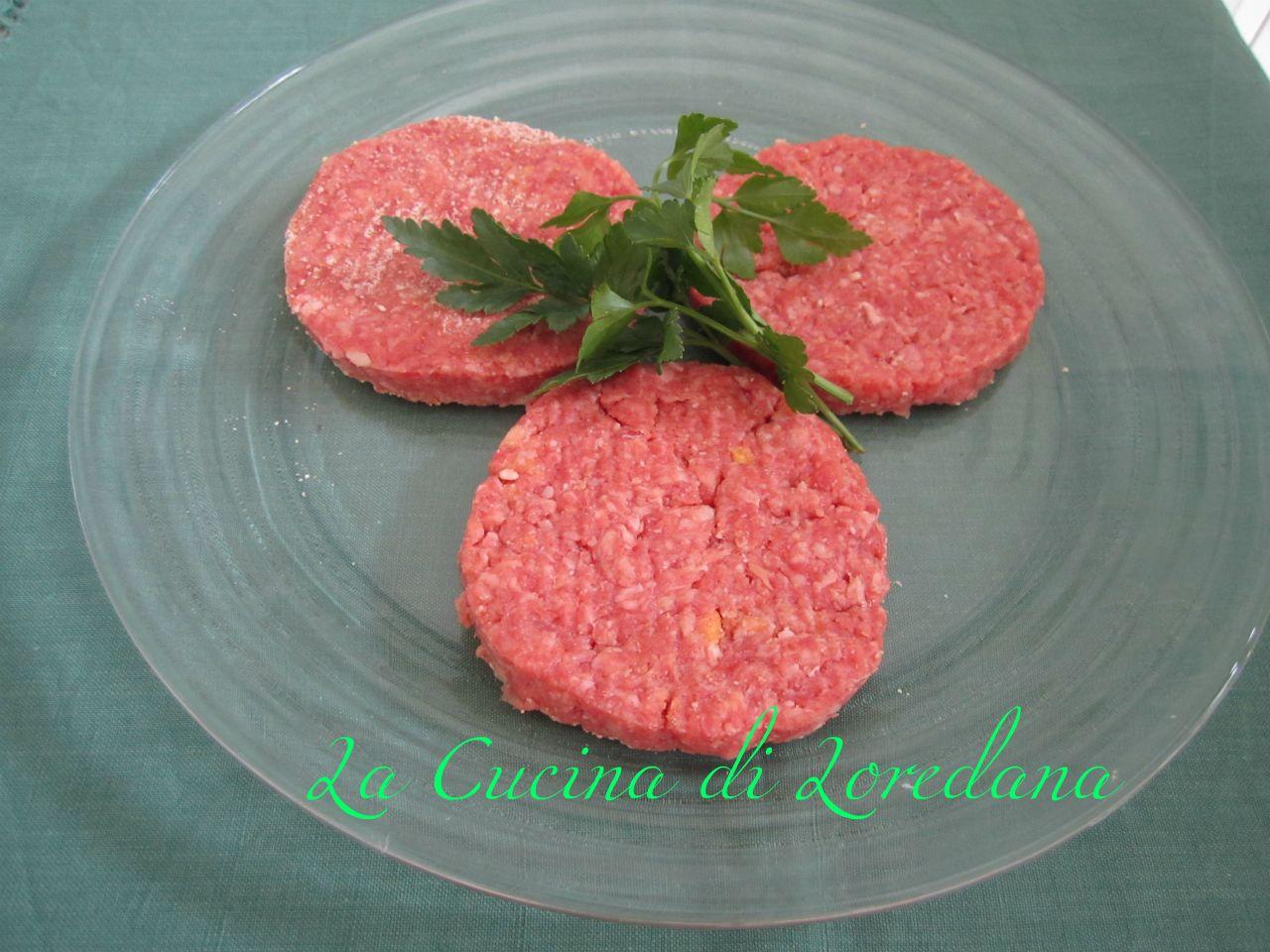 Hamburger fatti in casa - Faretti in casa ...