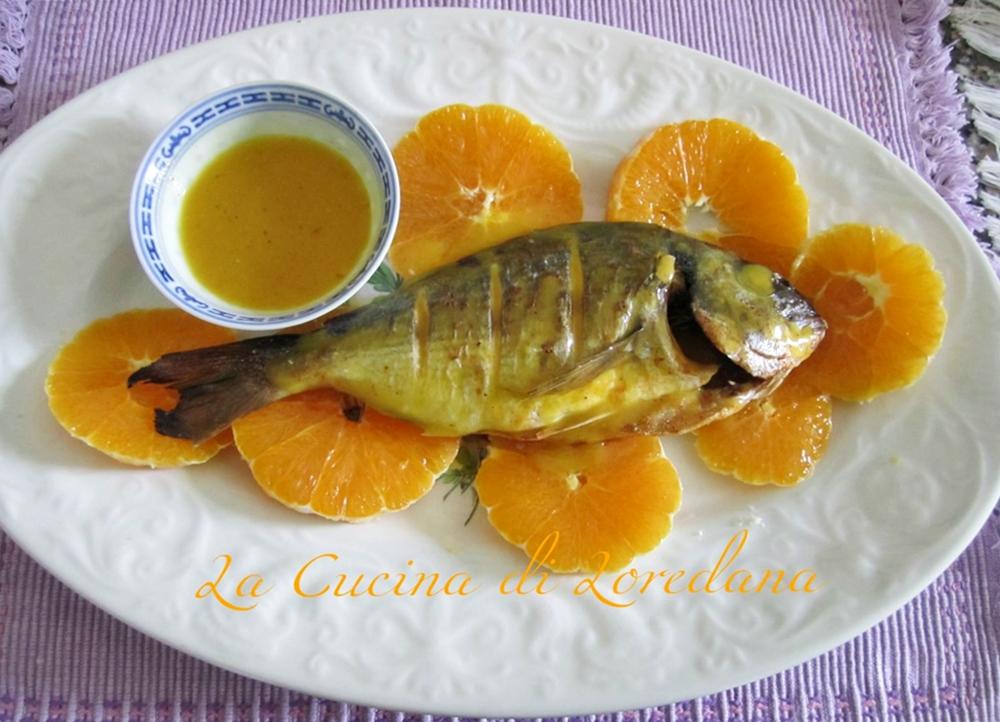 orata all'arancia
