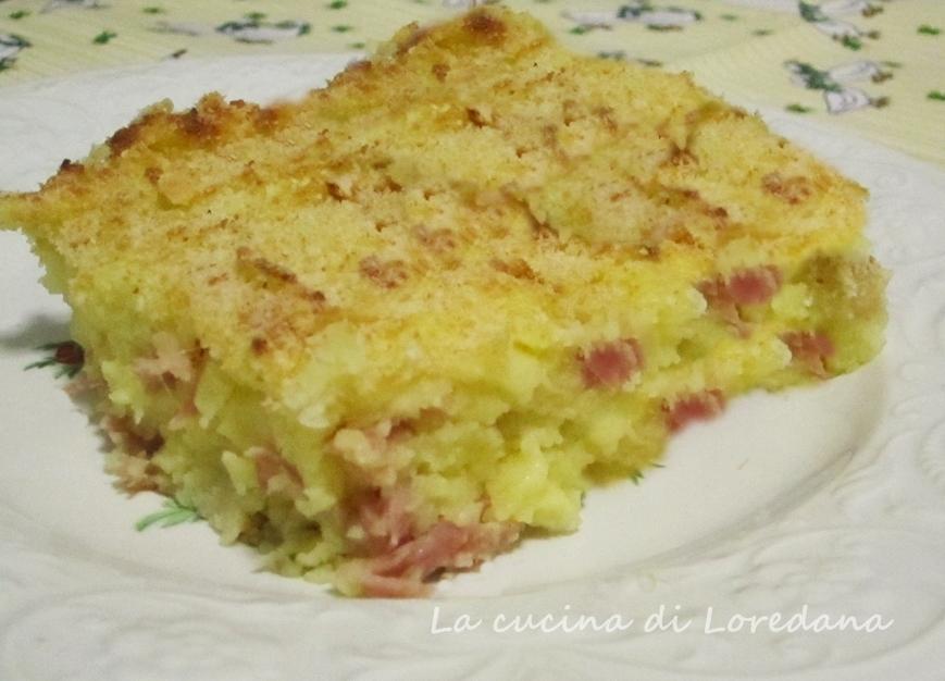 Torta di patate la cucina di loredana - La cucina di loredana ...