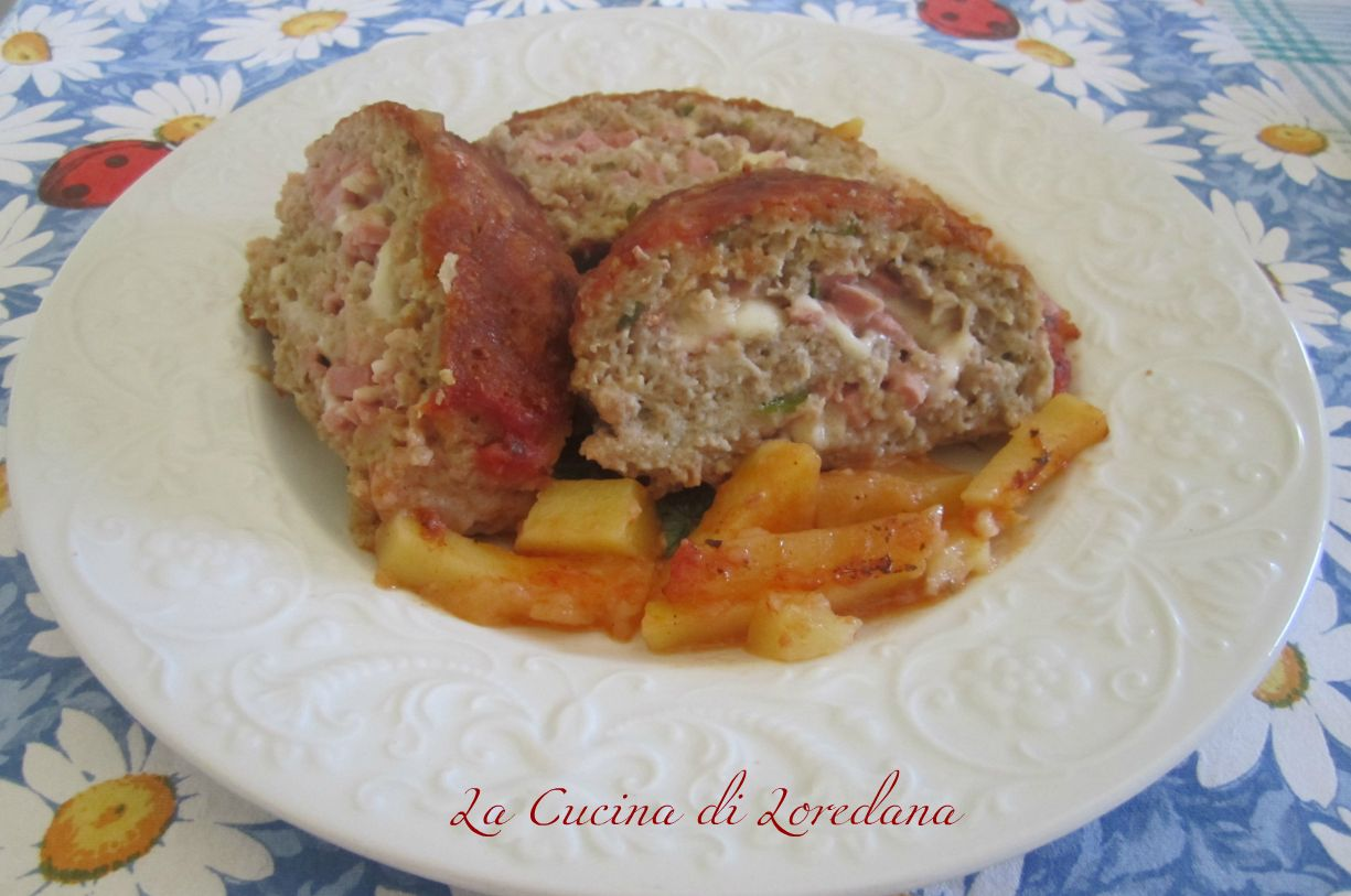 Polpettone Di Carne Ripieno #9F6E2C 1225 813 Polpettone Classico Cucina