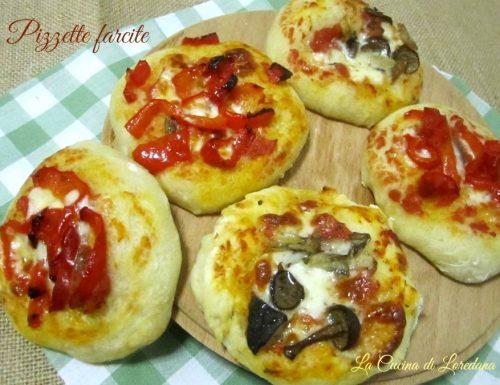 Pizzette farcite