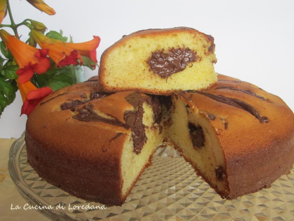 Torta soffice alla nutella la cucina di loredana - La cucina di loredana ...