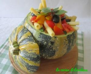 insalata di pasta con peperoni