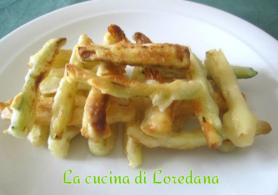 Bastoncini di zucchine fritte in la cucina - La cucina di loredana ...