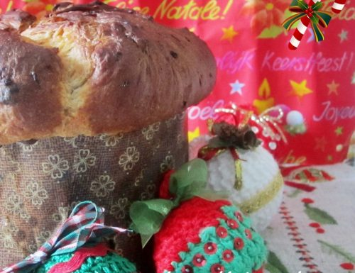 Panettone artigianale con lievito di birra – Ricetta Natale