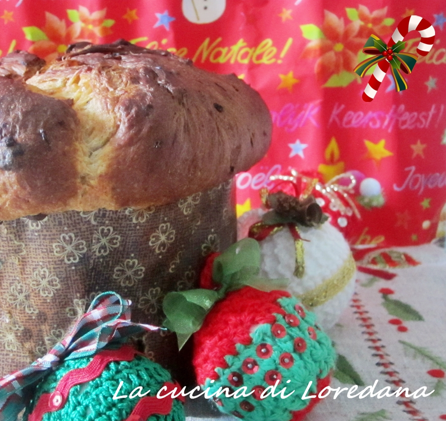 Panettone artigianale con lievito di birra la cucina di - La cucina di loredana ...