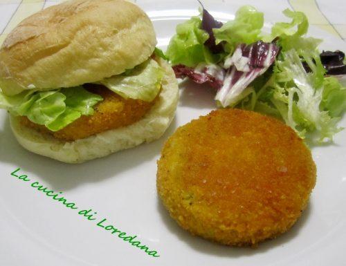 Cotolette di merluzzo – Fish Burger