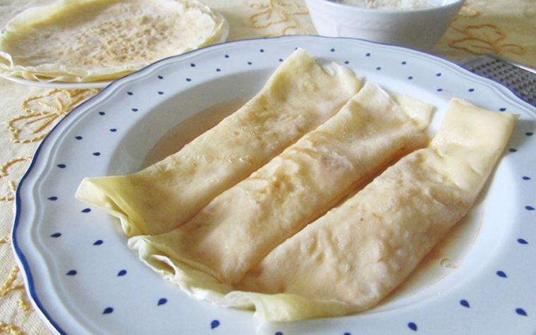 Crepes in brodo – Ricetta abruzzese