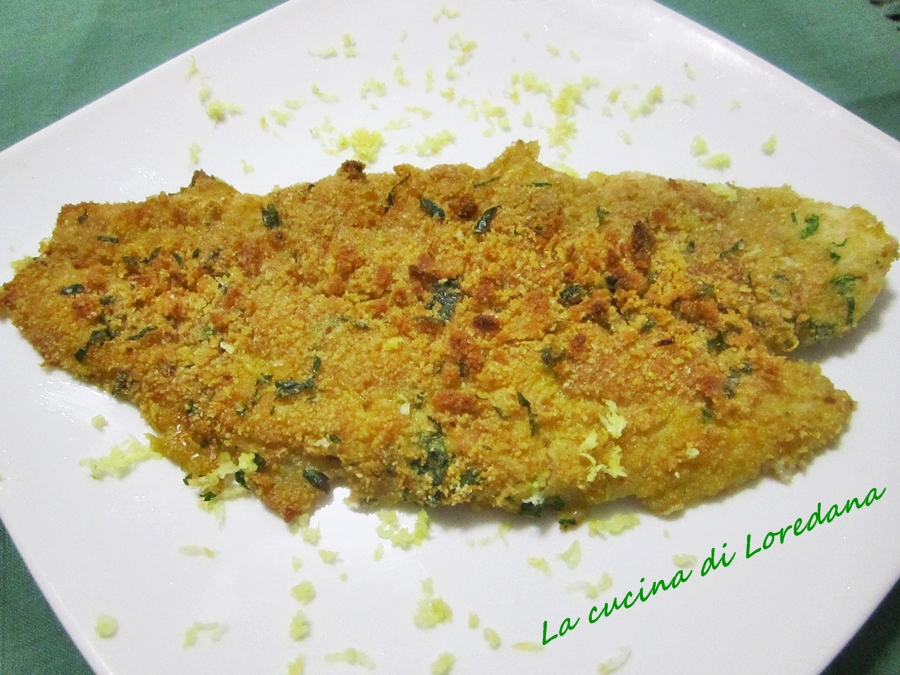 Ricette filetti pesce impanati al forno