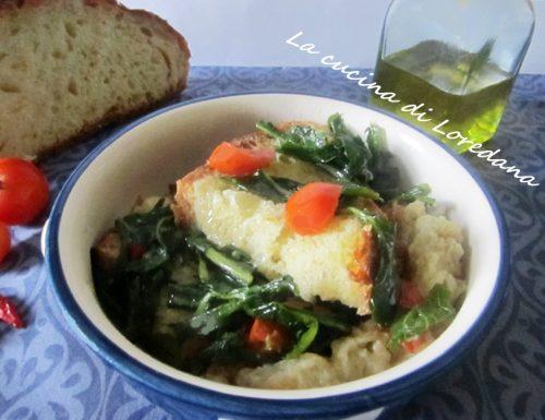 Pancotto con verdure patate e pomodorini