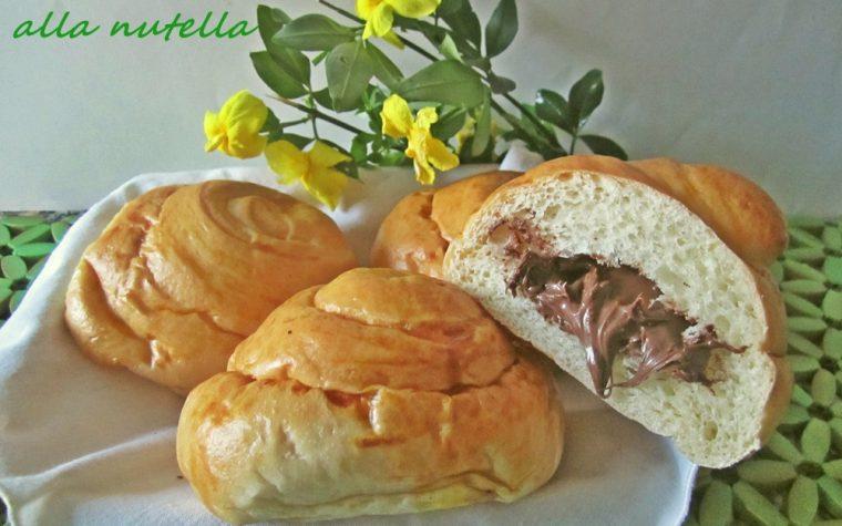 Chiocciole alla nutella – Dolci da colazione