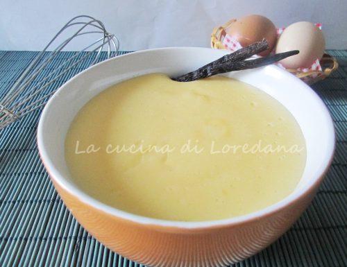 Crema pasticcera – Preparazione base
