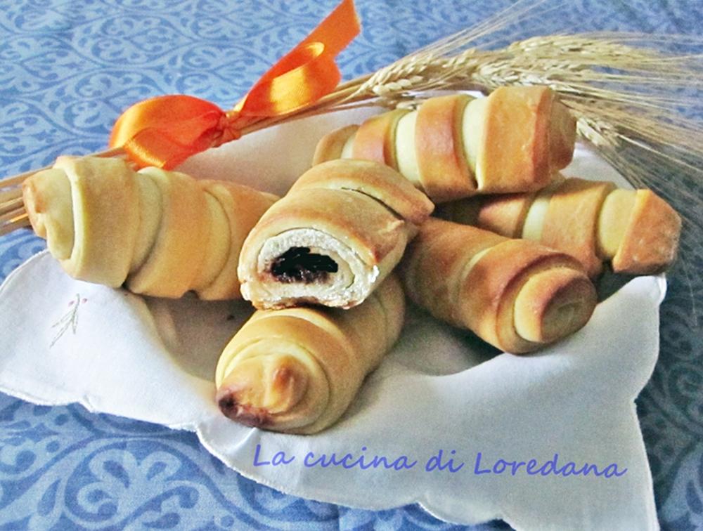 Flauti alla nutella la cucina di loredana - La cucina di loredana ...