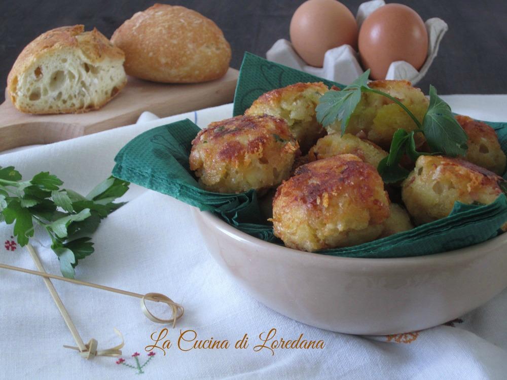 Polpette di pane la cucina di loredana - La cucina di loredana ...