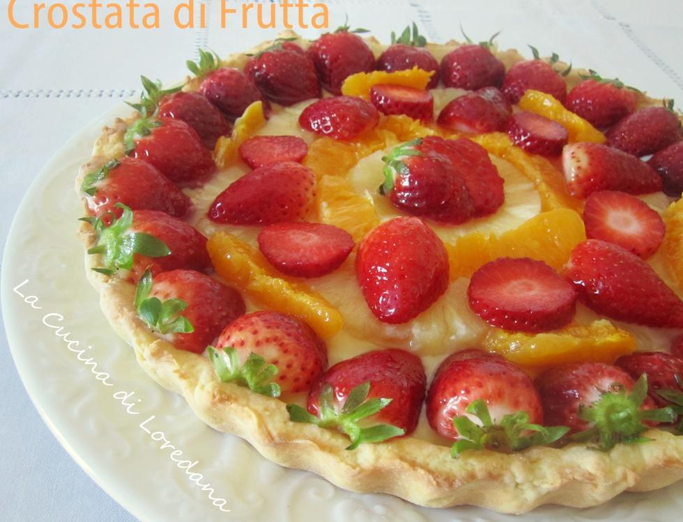 Ricetta Pasta Frolla X Crostata Di Frutta.Crostata Di Frutta