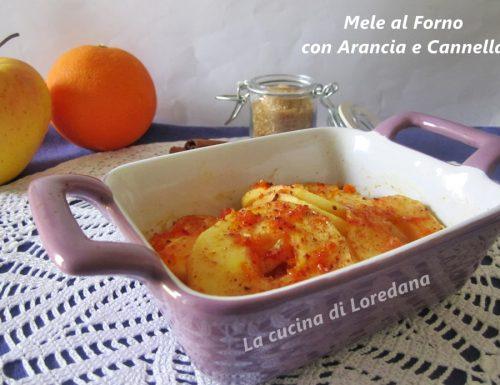 Mele al forno con Arancia e Cannella