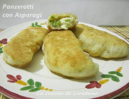 Panzerotti con Asparagi