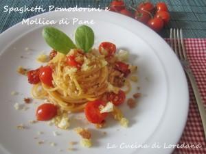 Spaghetti pomodorini e mollica di pane la cucina di loredana - La cucina di loredana ...