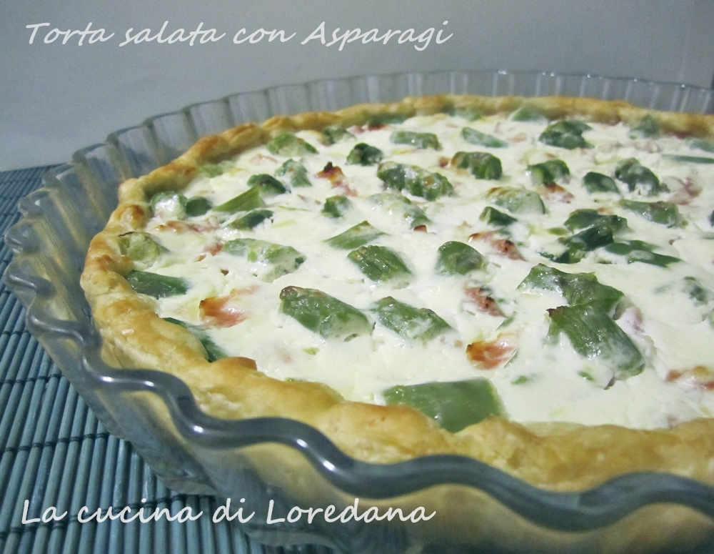 Torta salata con Asparagi - Ricetta Pasqua