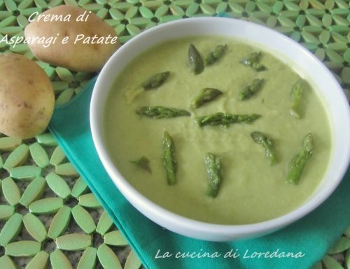 Crema di Asparagi e patate – Ricetta asparagi