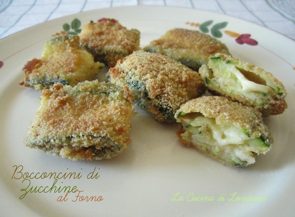 Bocconcini di zucchine al forno la cucina di loredanala cucina di loredana - Cucina con loredana ...
