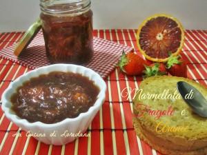 marmellata di fragole e arance