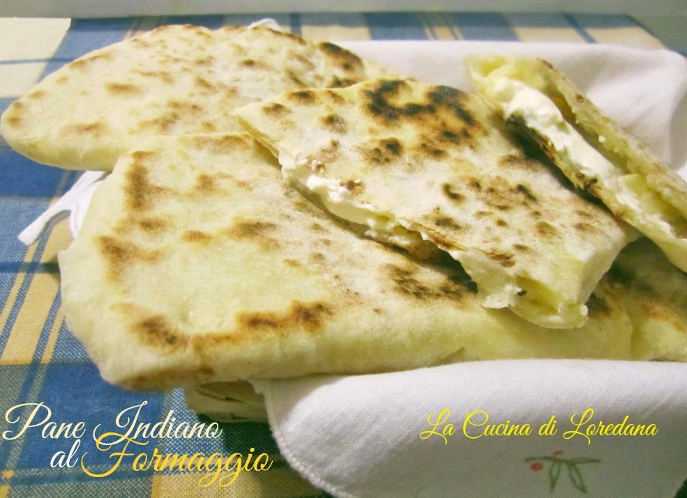 pane indiano al formaggio