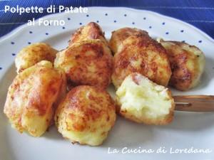 polpette di patate al forno
