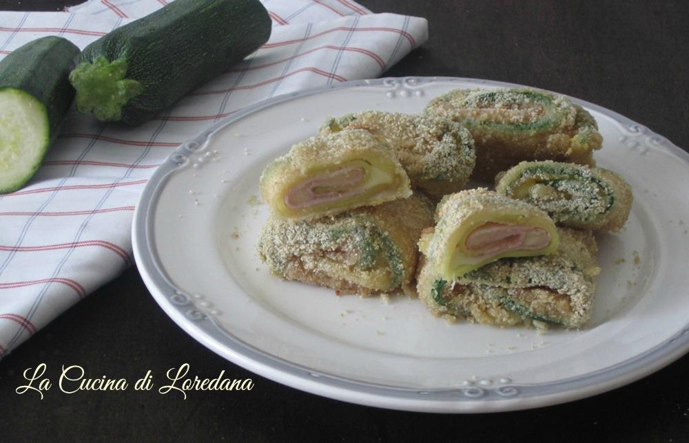 bocconcini di zucchine al forno