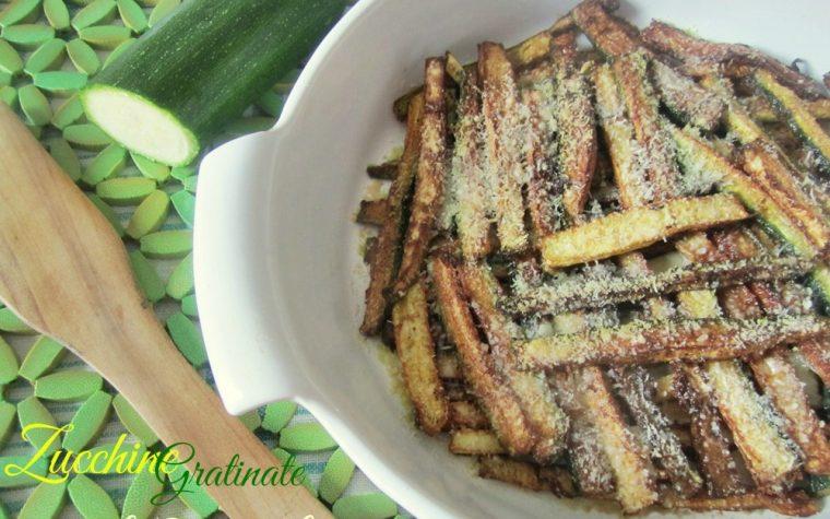 Zucchine gratinate – Ricetta semplice