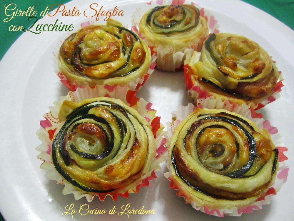 Ricetta girelle salate pasta sfoglia ricette casalinghe for Ricette di pasta