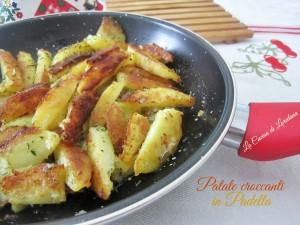 patate croccanti in padella