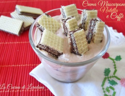 Crema Mascarpone Nutella e Caffè