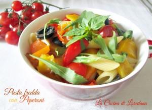 pasta fredda con peperoni