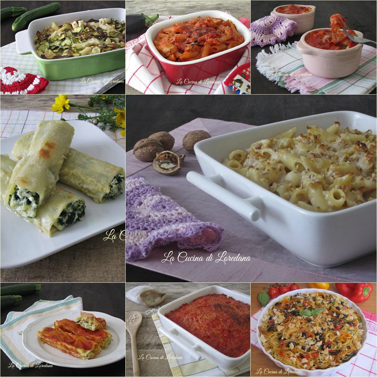 Ricette di pasta al forno la cucina di loredana - Loredana in cucina ...