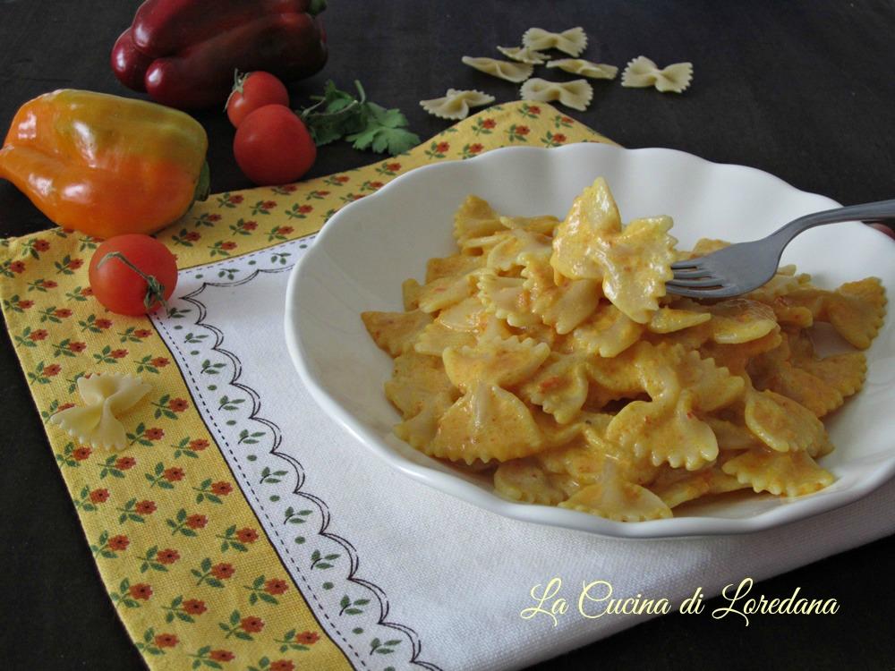 Farfalle impazzite la cucina di loredana - Loredana in cucina ...