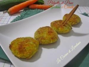 polpette di pane zucchine e carote