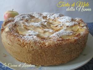 torta di mele della nonna