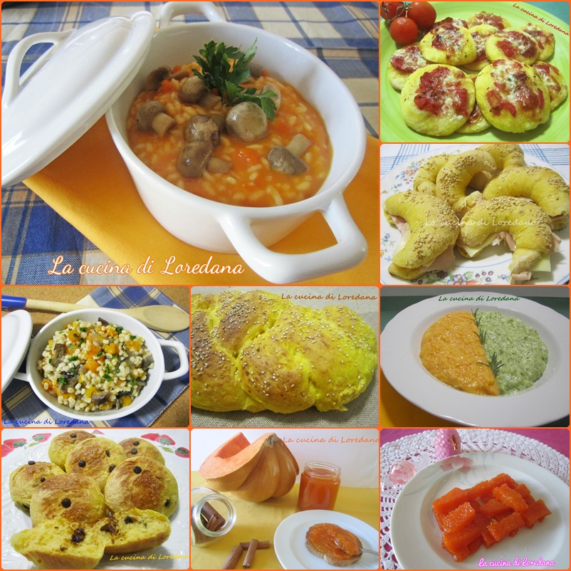 ricette con la zucca la cucina di loredanala cucina di