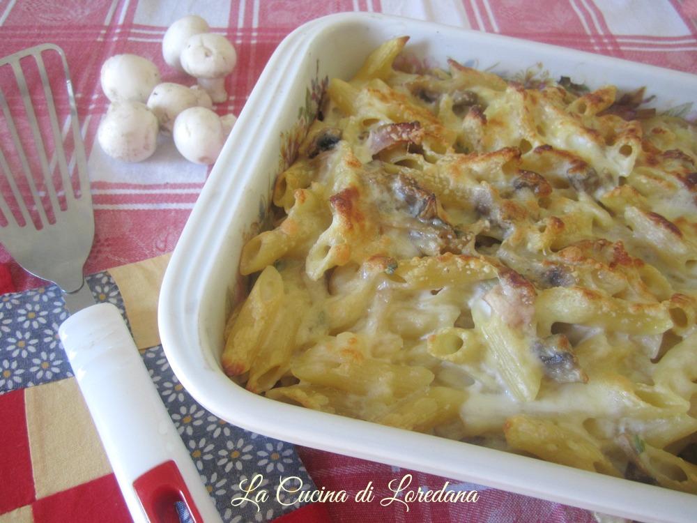 Ricette pasta al forno con prosciutto cotto
