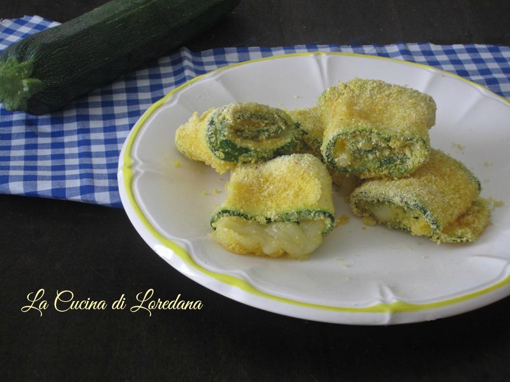 Rotolini di zucchine croccanti al forno - Semplici e deliziosi