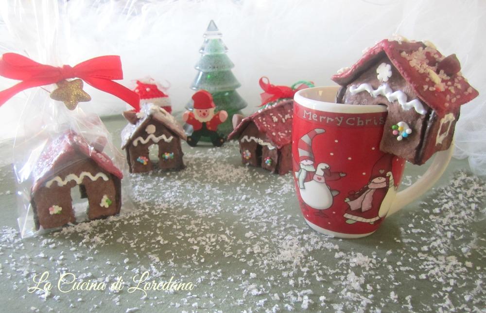 Casetta Di Natale Da Colorare : Casette di biscotto da tazza