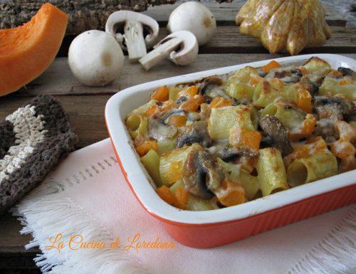 Pasta Zucca e Funghi