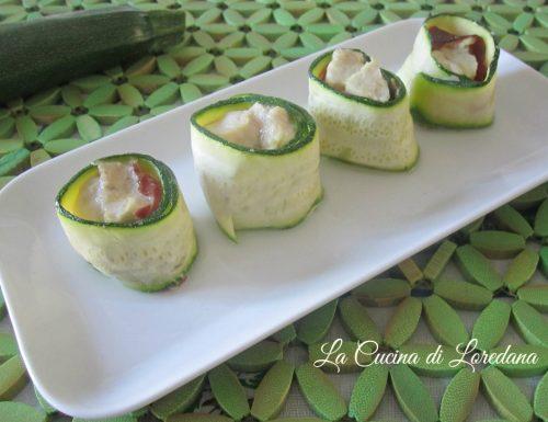 Rotolini di Pollo e Zucchine