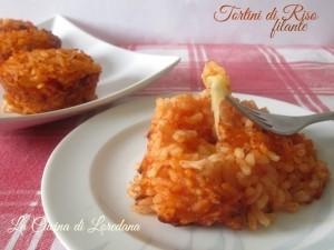 tortini di riso filante