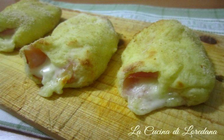 Rotolini di patate prosciutto e mozzarella