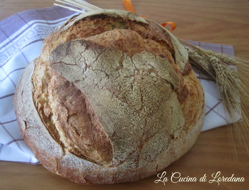 pane senza impasto in pentola
