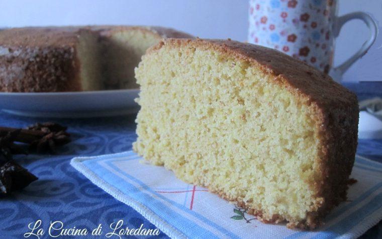 Torta integrale speziata all'Arancia