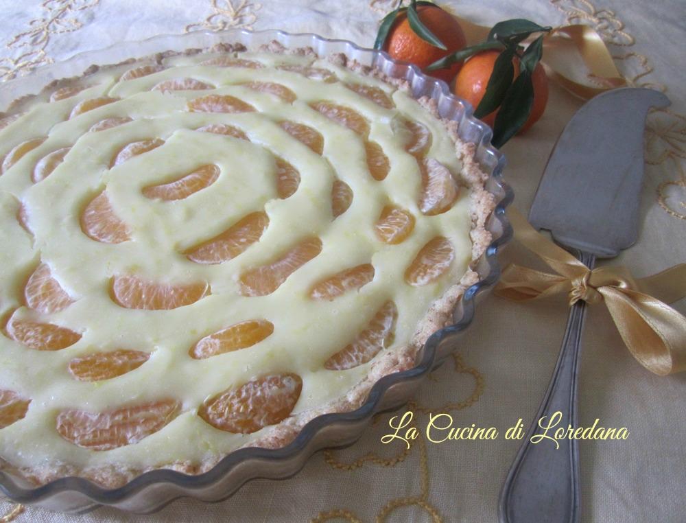 Crostata di mandarini la cucina di loredana - La cucina di loredana ...