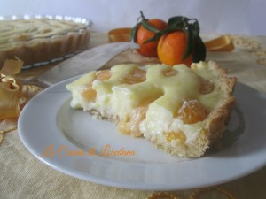 crostata di mandarini